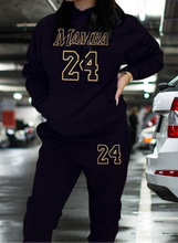 Load image into Gallery viewer, MAMBA 24 sweatsuit joggers hoodie Kobe Bryant | gold - ZenLionDesign