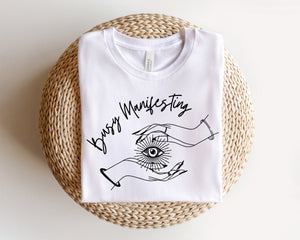 Busy Manifesting - hand drawn design