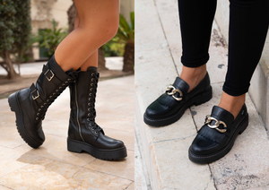 FASHION TRENDS FALL-WINTER 2020/2021: COMBAT BOOTS OR MOCCASINS?