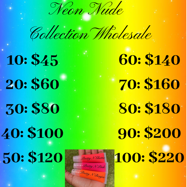 Neon Nude Collection Wholesale