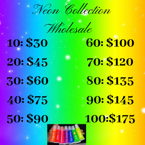 Neon Collection Wholesale