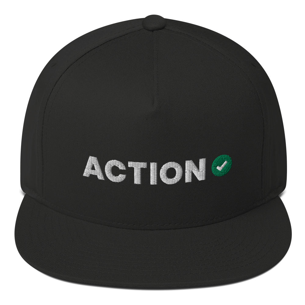 Action Network Flat Bill Cap