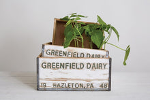 Load image into Gallery viewer, Distressed Wood Dairy Box
