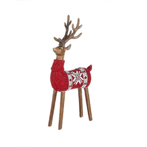 "16"" NORDIC SWEATER DEER"