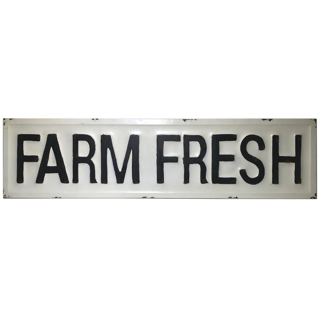 Farm Fresh Plaque