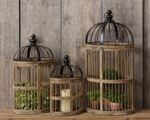 Nesting Birdcages