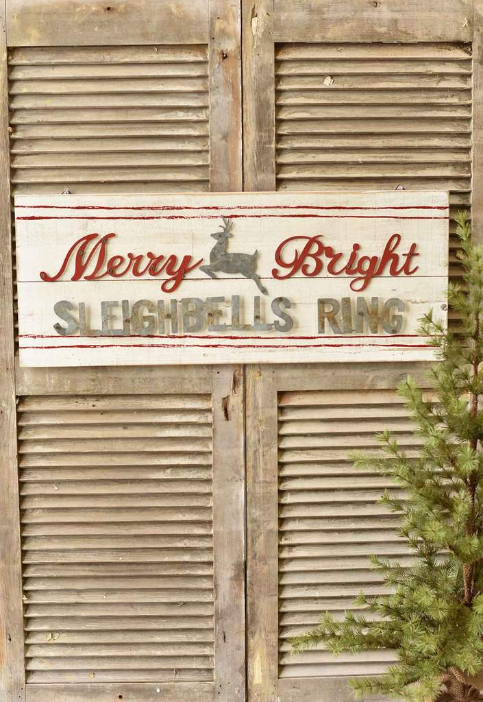 Sleigh Bells Ring Sign
