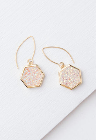 Glisten Geometric Earrings