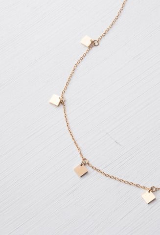 Merry Gold Multi-Pendant Necklace