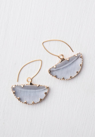 Kenna Lavender Earrings