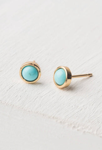Kady Turquoise Stud Earrings