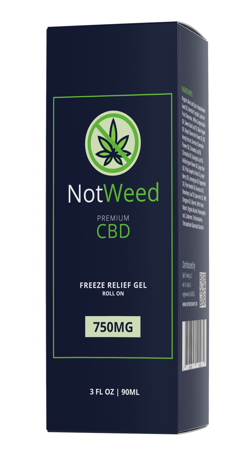 NotWeed 750mg Roll On