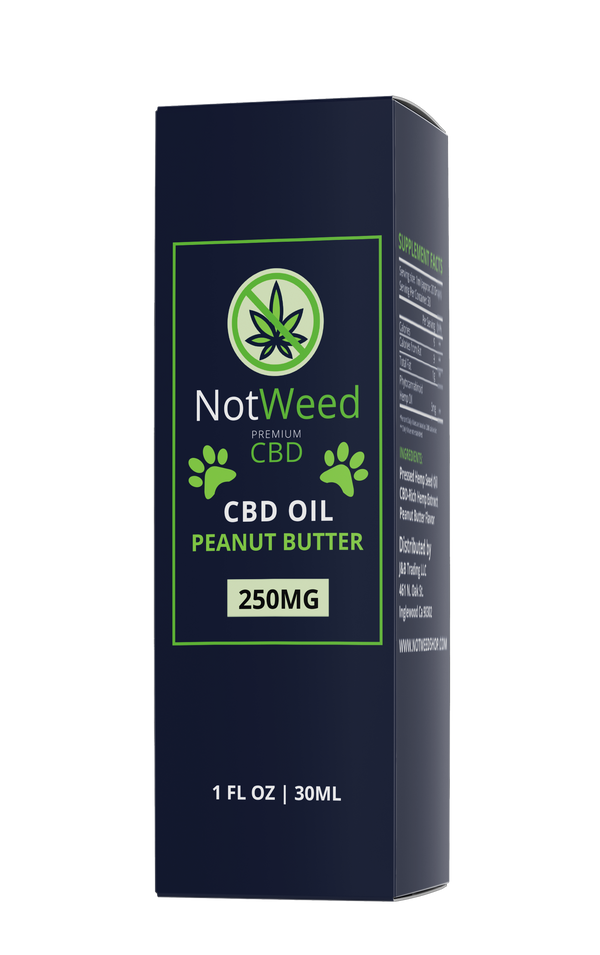 NotWeed Pet Peanut Butter Flavor 250mg