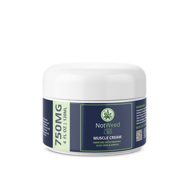 NotWeed 4oz Muscle Cream
