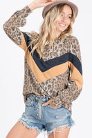 'Everything Leopard' Long Sleeve Top