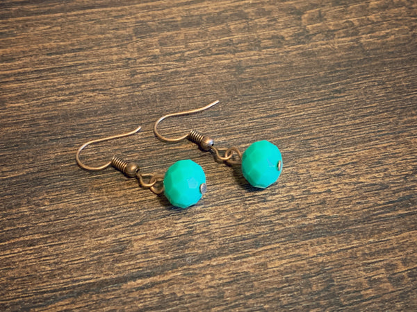 Turquoise Minimal Earrings