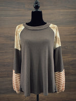 Coco Thermal Long Sleeve Top