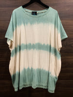 Faded Sage Short Sleeve Top