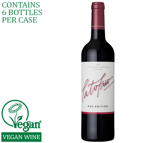 pato frio red edition wine vegan delivery alentejo portugal
