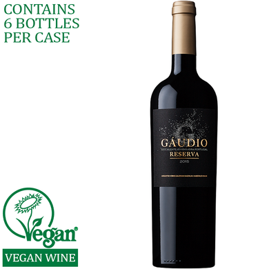gaudio reserva red wine vegan delivery service alentejo portugal