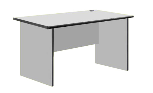 Office Writing Table in Light Grey