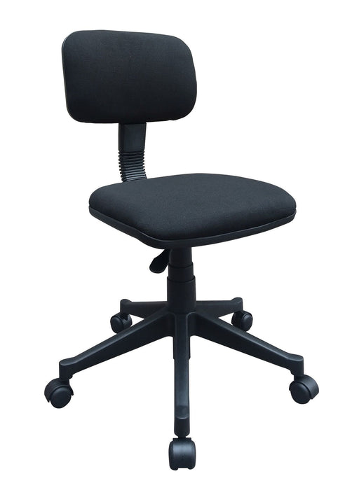 Lowback Fabric Swivel Task Office Chair without Armrest