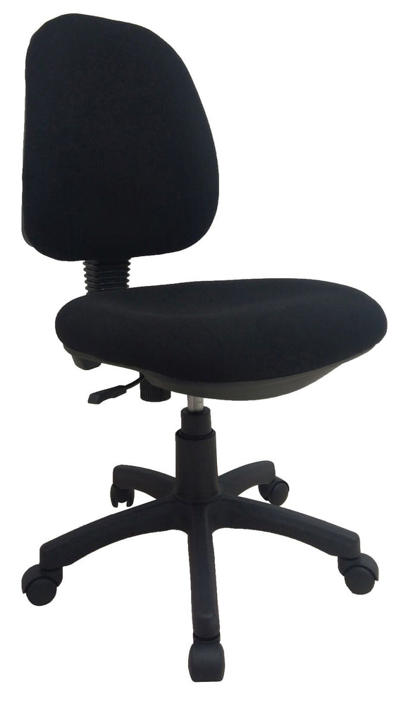 Midback Fabric Swivel Task Office Chair Without Arm