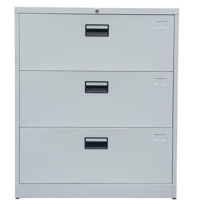 3 Drawer Steel Lateral Filing Cabinet