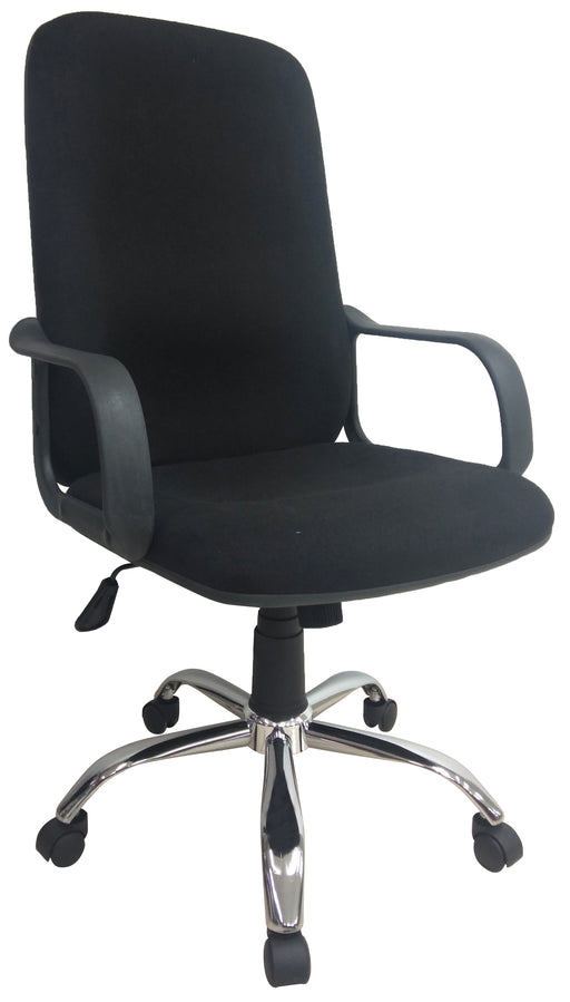 Highback Fabric Office Chair with Armrest