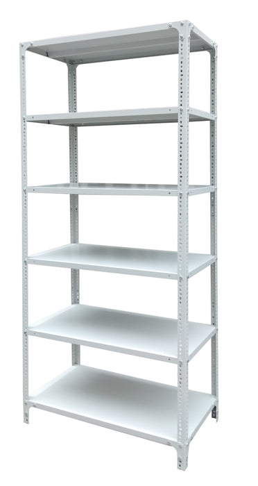 6 Layer Steel Rack, Light Gray