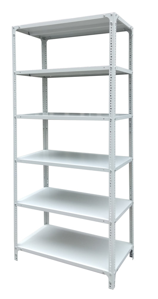 6 Layer Light Duty Metal Rack, Light Gray
