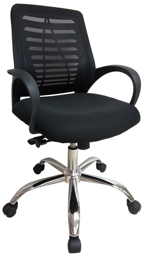Staff Chair with Armrest & Adjustable Gaslift