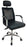 Highback PU Leather Executive Ergonomic Chair with Headrest, Mesh Back