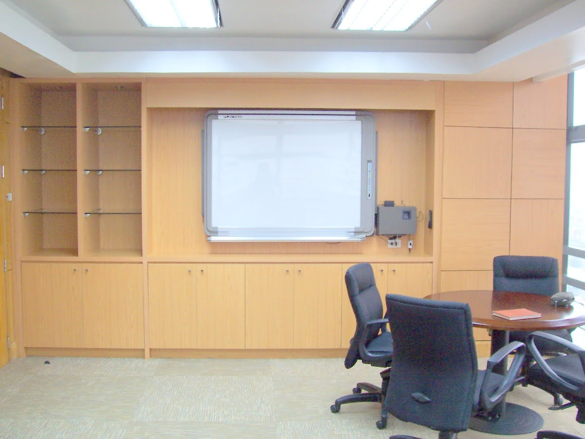 Executive Office Custom Cabinets