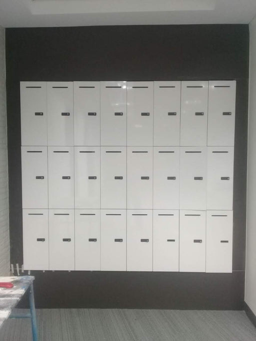 Custom Modular Laminated Lockers