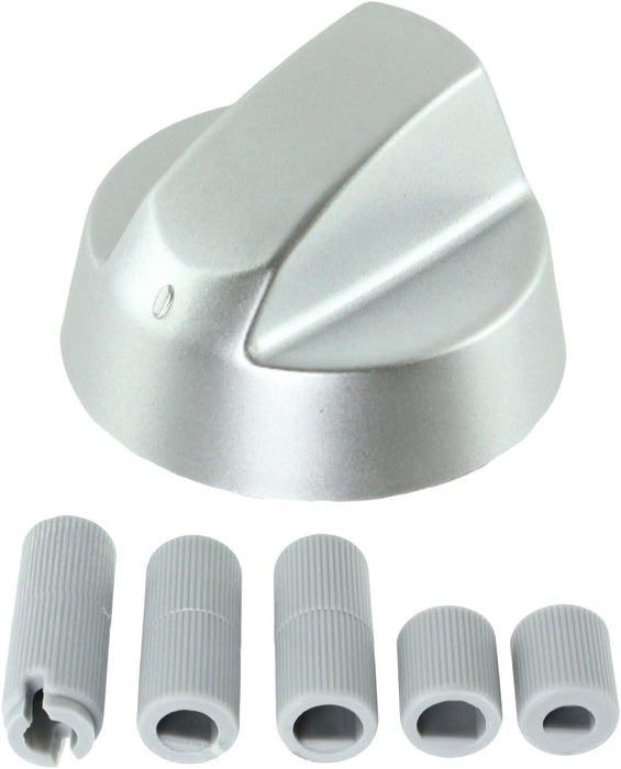 Dials for Ariston Oven Cooker /& Hob Pack of 1 Silver Grey Control Knobs