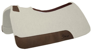 5 Star Natural Felt Saddle Pad