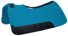 Load image into Gallery viewer, 5 Star Turquoise Felt Saddle Pad