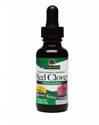 Natures Answer Red Clover Flowering Tops Supplement 30ml