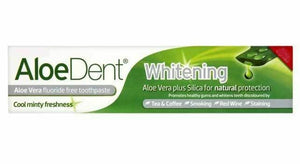 Aloe Dent Toothpaste  Whitening Sensitive Triple Action Charcoal Coconut