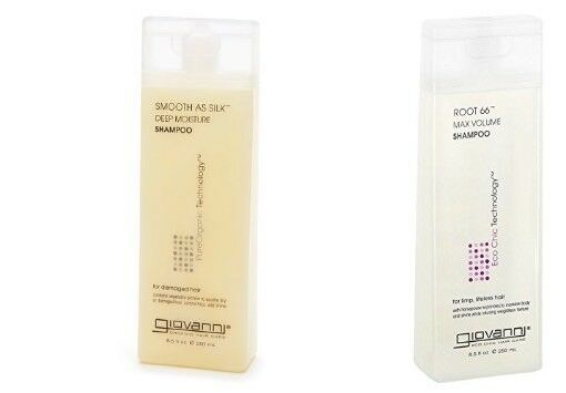 Giovanni, Smooth as Silk Conditioner Shampoo Set vegan Dry  Damaged Hair