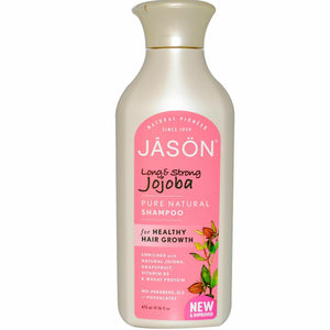 Jason Long  Strong Jojoba Shampoo  healthy hair growth.