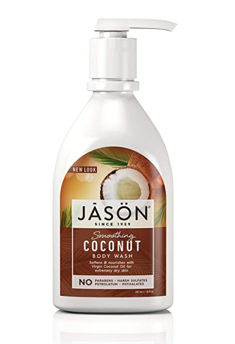Jason Body Wash Smoothing Coconut  887ml 30oz Shower Gel