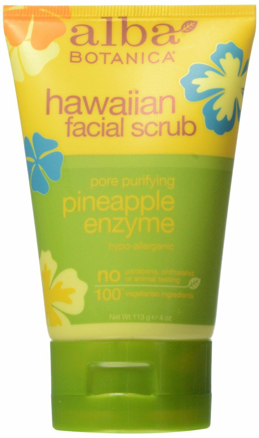 Alba Botanica Pineapple Enzyme Facial Scrub 118 ml