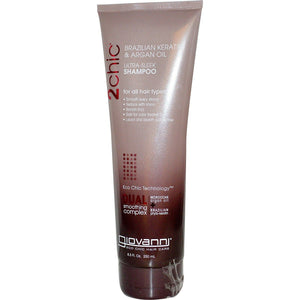 Giovanni Hair Care Products 2 Chic Keratin & Argan Oil Shampoo 235 ml