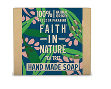 Load image into Gallery viewer, Faith in Nature Soap Bar 100g Natural Vegan Plastic Free