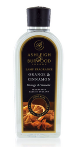 Ashleigh & Burwood Fragrance Lamp oil - Orange & Cinnamon - 1000ml
