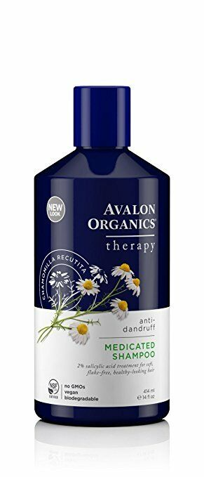 Avalon Organics Medicated Anti Dandruff Shampoo