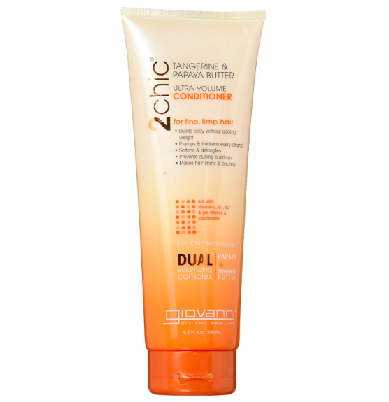 Giovanni 2chic Tangerine & Papaya Butter Ultra-Volume Conditioner 250ml