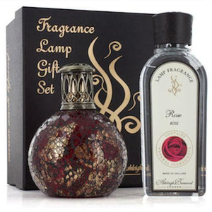 Ashleigh Burwood Premium Home Fragrance Oil Lamp Gift  Box Set with 250ml oil